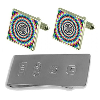 Psychedelic Cufflinks & James Bondお金クリップ