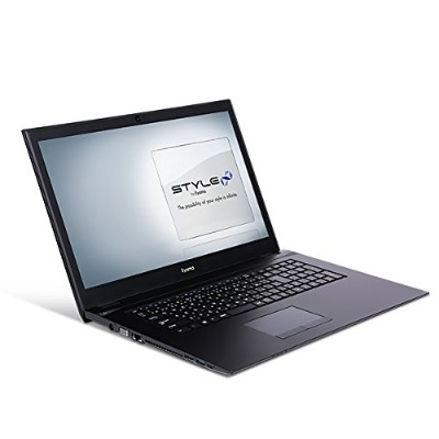 iiyama ノートPC STYLE-17HP043-C-UCEM [17.3型HD+/Windows 10 Home/Celeron N4100/4GB メモリ/1TB HDD/DVD]