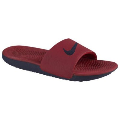 (取寄)ナイキ メンズ カワ スライド Nike Men's Kawa Slide Red Crush Blackened Blue Blackened Blue