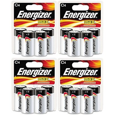 Energizer Max C Cell Alkaline Battery, 16 Batteries (4 X 4 Count Packs) by Energizer [並行輸入品]