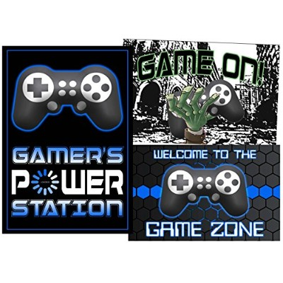The Game Is On – Come Join the BattleビデオGamerテーマパーティー用品