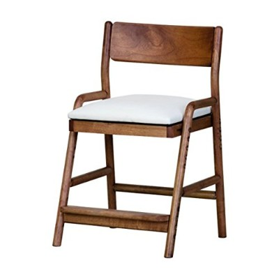 ISSEIKI DESK CHAIR デスクチェア 幅45 (MBR/WH+BE) 木製家具 FIORE DESK CHAIR (MBR/WH)+COVER (BE)