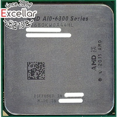 【中古】AMD A10-Series A10-6800K BE Socket FM2 AD680KWOA44HL