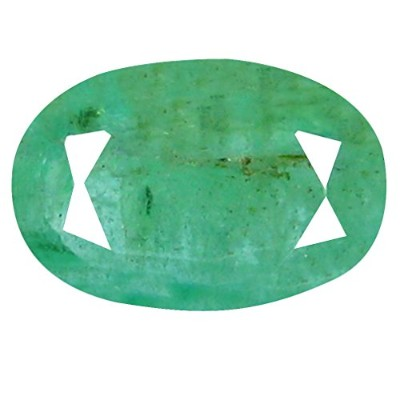 1.19 CTオーバルカット(9 x 6 mm Unheated Colombian Emerald Loose宝石