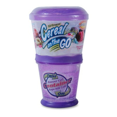 EZ-Freeze Cereal on the Go (Purple) by Cool Gear