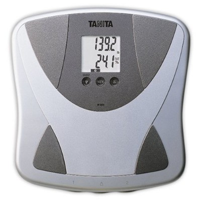 Tanita BF680W Duo Scale Plus Body Fat Monitor with Athletic Mode and Body Water by Tanita