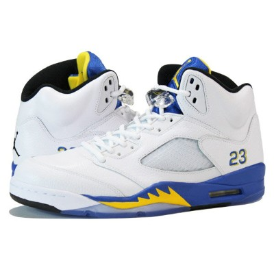 NIKE AIR JORDAN 5 RETRO 【LANEY】 ナイキ エア ジョーダン 5 レトロ WHITE/BLUE/YELLOW 136027-189