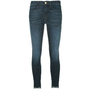 Frame Denim Le Skinny de Jeanne raw stagger jeans - ブルー