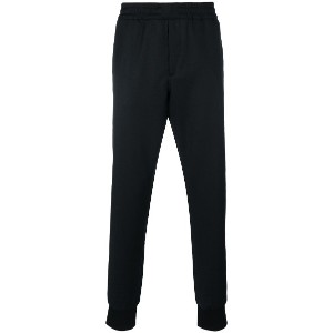 Ps By Paul Smith elastic waist trousers - ブラック