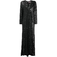 Christian Lacroix Vintage 1988 sparkly evening dress - ブラック