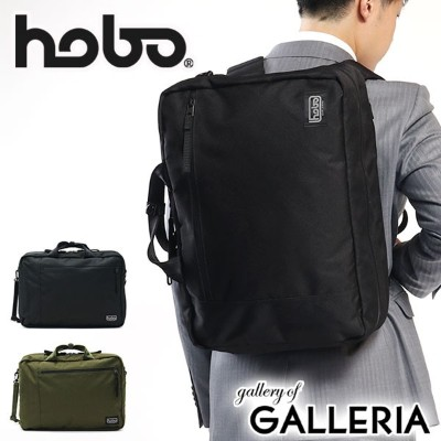 【P19倍★8/19(日)20時~4H限定 ワンエントリー】ホーボー ビジネスバッグ hobo 3WAY ブリーフケース Polyester Canvas 3Way Briefcase...