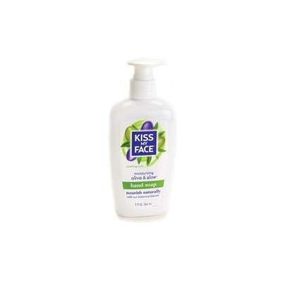 Kiss My Face Hand Soap Olive & Aloe 265 ml Pump by Kiss My Face