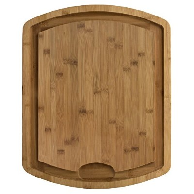 """Totally Bamboo Cutting & Carving Board withレーザーエッチングファミリーツリー 19.5"""" x 15.5"""" ブラウン 20 3043"""