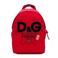 Dolce & Gabbana Kids D & G Friends バックパック - レッド