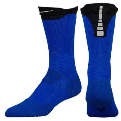ナイキ メンズ バスケットボール【Hyperelite 2.0 Crew Socks】Lyon Blue/Black/Bold Berry
