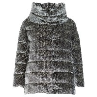 Herno feather down padded jacket - グレー