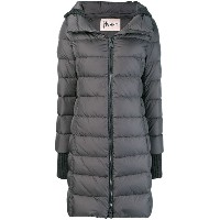 Herno hooded feather down jacket - グレー