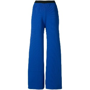 Simon Miller cropped flared trousers - ブルー