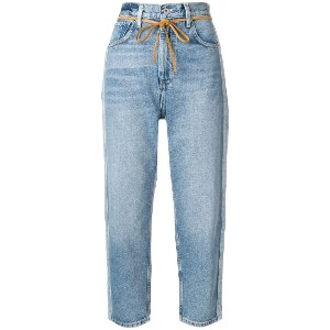 Levi's: Made & Crafted Barrel cropped jeans - ブルー