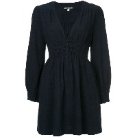 Alexa Chung v-neck dress - ブルー