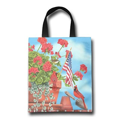 WACRDG Shopping Handle Bags,Happy-Labor-Day Personalized Tote Bag