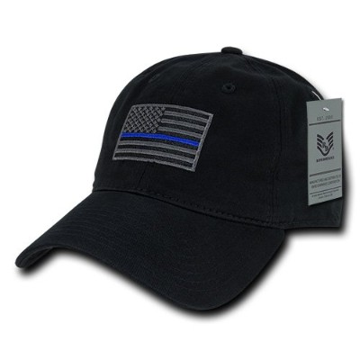 Rapid Dominance A03-TBL-BLK Relaxed Graphic Cap44; Thin Blue Line44; Black