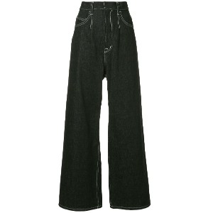 G.V.G.V. straight fit trousers - ブラック