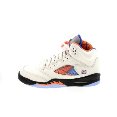 NIKE 180804 AIR JORDAN 5 RETRO (GS) 440888-148 SAIL/RACER BLUE-CONE-BLACK エア ジョーダン 5 レトロ GS セイル...
