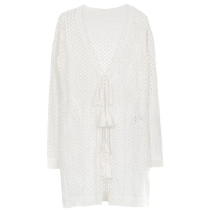 Track & Field cardigan dress - ホワイト