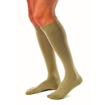 Jobst 113127 Men's 20-30 mmHg Firm Casual Knee High Support Sock Size: X-Large, Color: Khaki by...