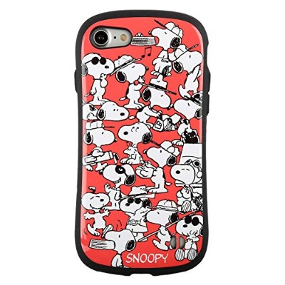 iFace First Class スヌーピー PEANUTS iPhone8/7 ケース 耐衝撃/サーモンピンク