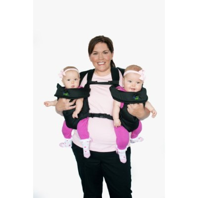 Stuff 4 Multiples TwinTrexx 2 Twin Baby Carrier, Black by Stuff 4 Multiples