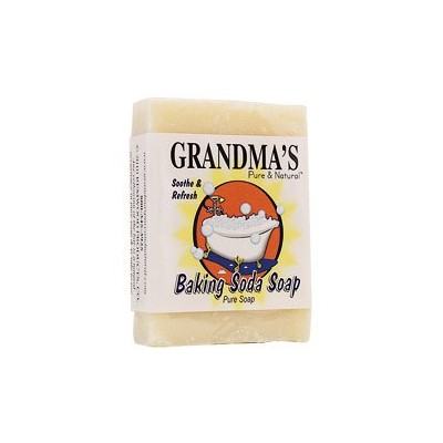 GRANDMAS PURE & NTL BAR BAKING SODA, 4 OZ by Grandmas Pure