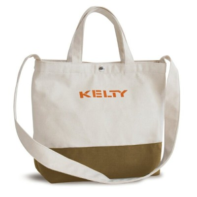 KELTY(ケルティ) SHOULDER LOGO TOTE 8L Tan 2592223