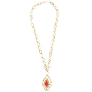 Aurelie Bidermann Filo long necklace - メタリック