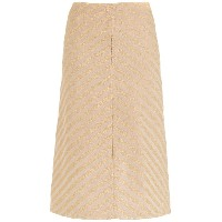 Nk striped a-line skirt - ニュートラル