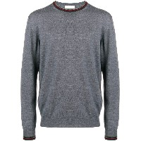 Etro crew neck sweater - グレー