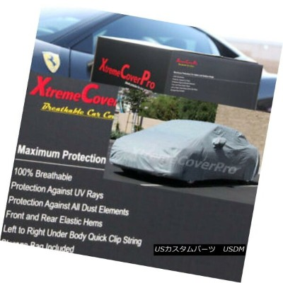 カーカバー 2007 2008 Toyota Yaris Liftback 3-door Breathable Car Cover w/MirrorPocket 2007年トヨタヤリスリフトバック3ド...