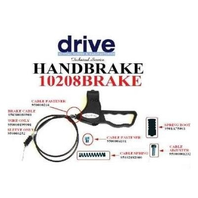 Handbrake by Drive Medical