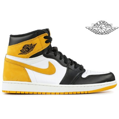 NIKE AIR JORDAN 1 RETRO HIGH OG 「HAND IN THE GAME COLLECTION」 555088-109 SUMMIT WHITE/YELLOW...
