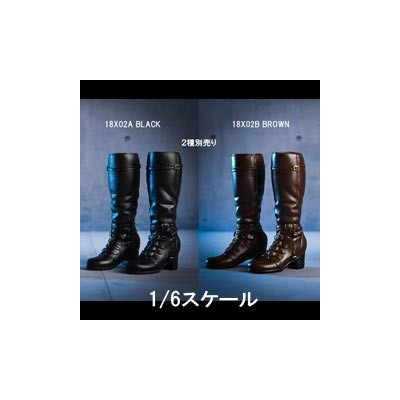 【VICKY SECRET toys】VStoys 18X02-A -B Dual-use long combat boots シューズ 1/6スケール 女性フィギュア用ブーツ