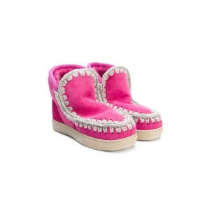 Mou Kids Eskimo boots - ピンク