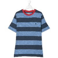 Ralph Lauren Kids TEEN striped T-shirt - ブルー