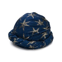 Gucci star patterned hat - ブルー