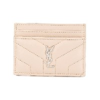 Saint Laurent Monogram cardholder - ヌード&ナチュラル