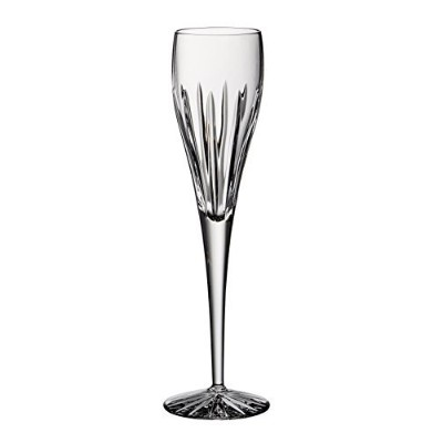 Barski - Hand Cut - Mouth Blown - Crystal - Tall Toasting Champagne Flute - Joy design - 180ml -...