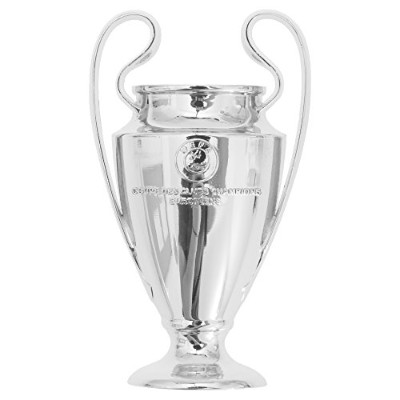 UEFA Champions League 2d Football / Soccerトロフィーマグネット One Size シルバー UTSG7133