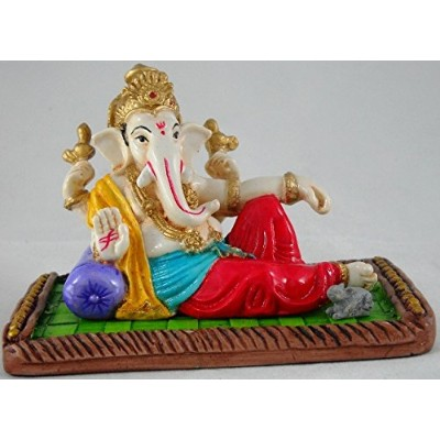 Beautiful Ganesha, Ganesh, Ganpati Murti Idol Statue Sculpture by Affaires for car/office Decor,...