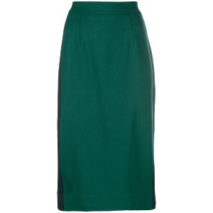 P.A.R.O.S.H. fitted pencil skirt - グリーン