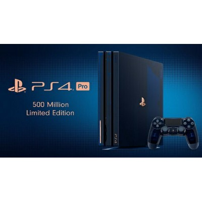 【あす楽】8/24発売【5万台限定】PlayStation 4 Pro 500 Million Limited Edition 2TB (CUH-7100BA50) ソニー★PS4プロ...